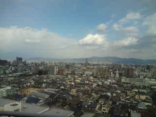 大阪って、平野だなぁ